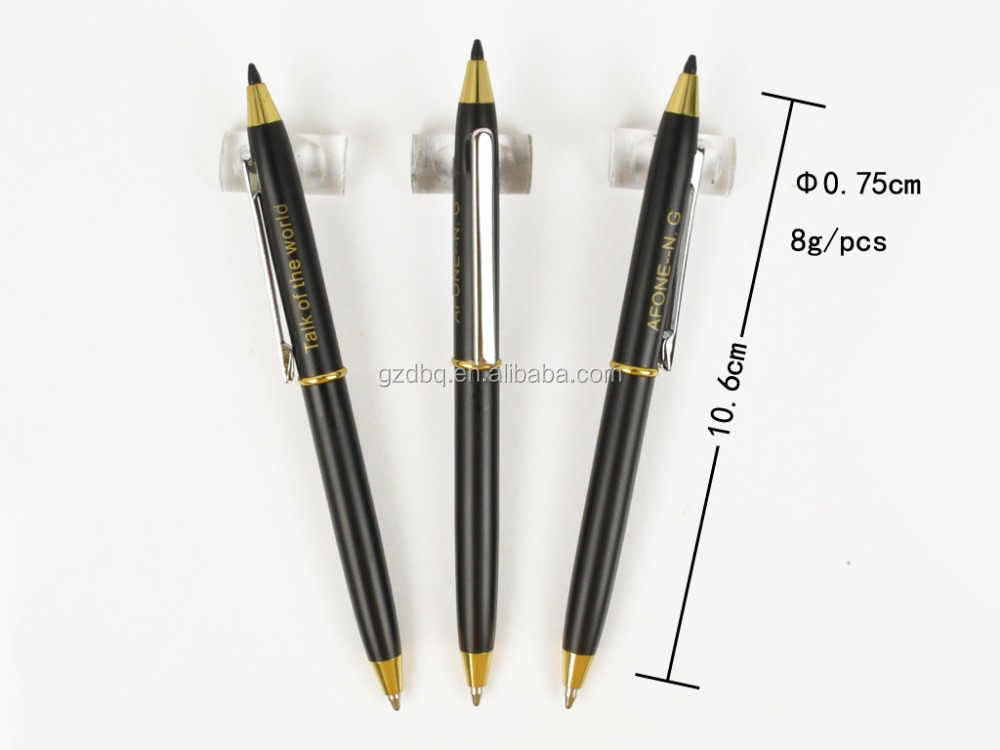 Two side double head ballpoint pen ,twist pen , high grade promotional pen