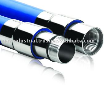PVC Riser Pipe with Stainless Steel Coupling