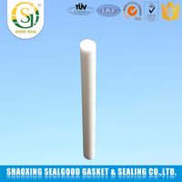 non-viscous self-lubricating extruded black ptfe rod