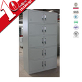 Gym sports steel 10 compartments lockers with CKD package