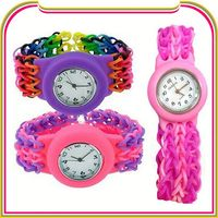 S076 silicone sport mirror led watch hot