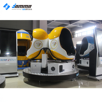 3 seat robot 5 d 7d 9d vr cinema virtual reality egg vr  electric system