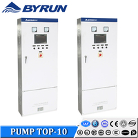 Byrun Brand Frequency Change Electric Pump Control Panel