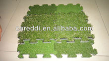 Hot!! grass puzzle for landscaping