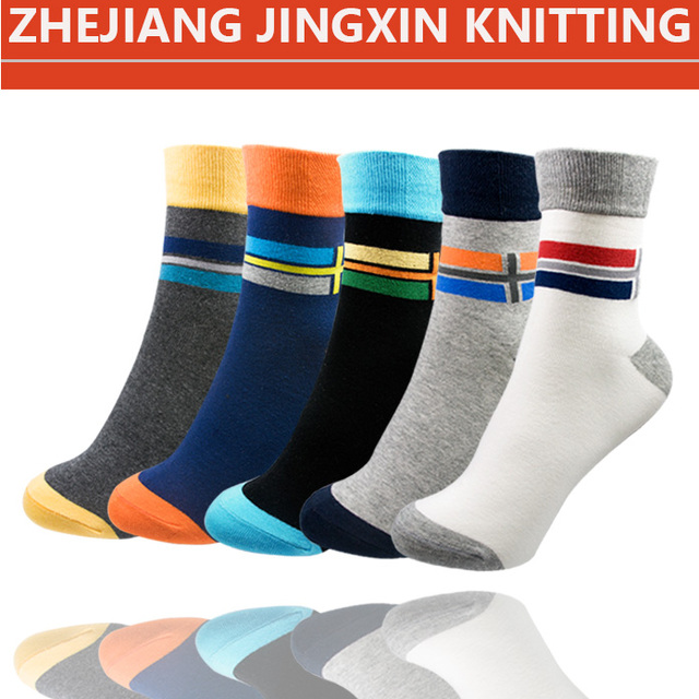 2017 hot sale polo happy tube men socks