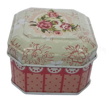 High Quality Small Mint Square Jewelry Tin Box