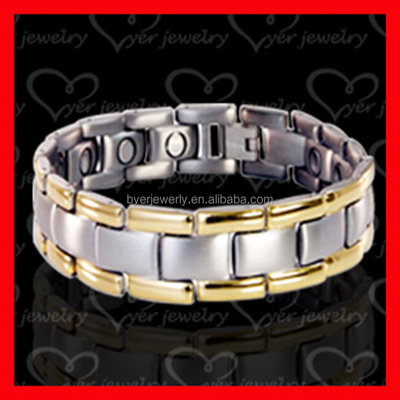 new gold chain design men stainless steel bracelet