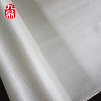 High silica satin silicon coated fiberglass cloth