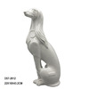 Fancy Abstract Ceramic Dog Figurines Decoration