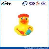 Factory supply attractive price yellow rubber duck bath toy