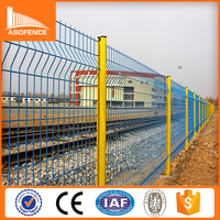 Best sale British V3 mesh fencing, 3D Building Garden Partition Fence, Folded Wire Mesh Panel