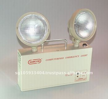 SAMCOM ETL 210 Self-Contained Twin Head Emergency Light