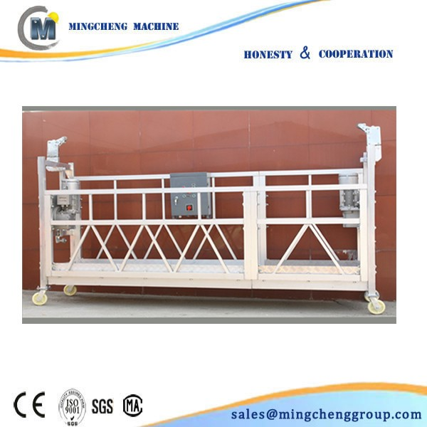 China Manufacturer ZLP Construction/Wall/Window Cleaning Suspended Platform/ Cradle/ Gondola/ / Sky