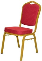 Wholesale stackable banquet high back throne chair