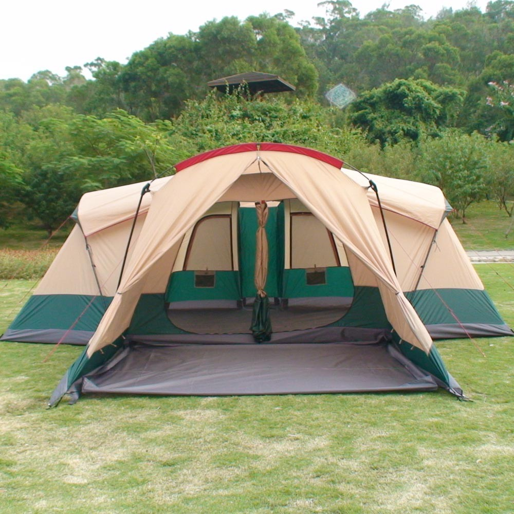 OEM family tent double 2 room big camping tents