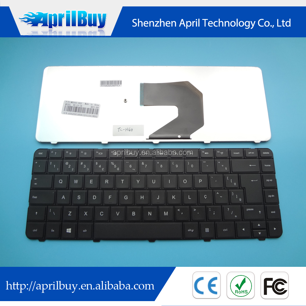 High Quality laptop keyboard for HP G4 G6 G4-1000 G4-2000 BR keyboard