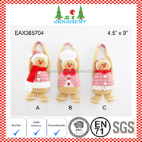 Christmas door hanger gingerbread craft