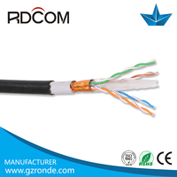 Armored cable 1000ft/305m waterproof outdoor cat6 ftp cable