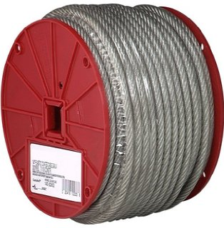 Hot sale 7x7 0.6-30MM galvanized steel wire rope/aircraft cable