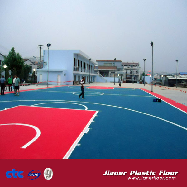 Basketball Court Sports Flooring Jianer Floor