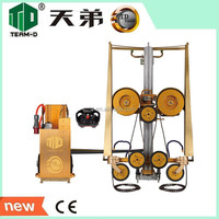 High Precision Multi Head Diamond Wire Saw Machine Granite Bridge Saw Stone Cutting Machine