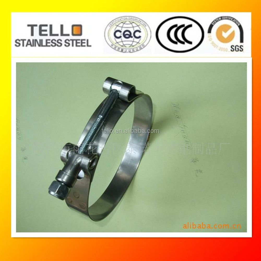 304 Hose Clamp/Clip Stainless Steel T Bolt