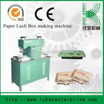 semi-automatic and cheap price paper fast food container or box