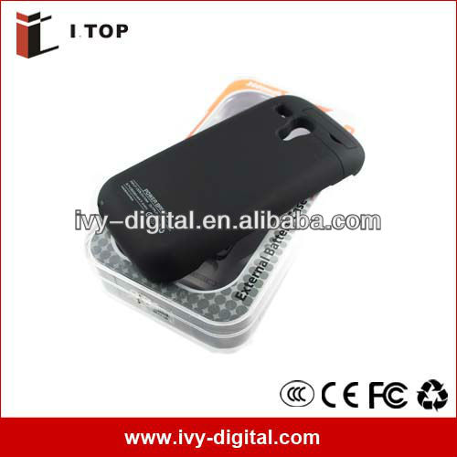 Accept Paypal Rechargeable External Backup Battery Case for Samsung Galaxy S3