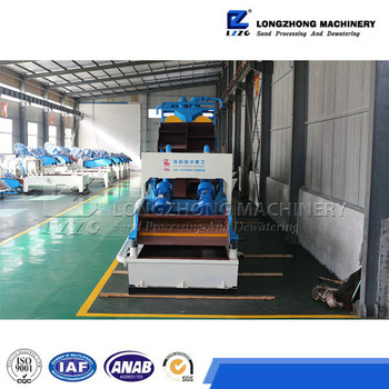 gravels sand separating washer in sand washing plant