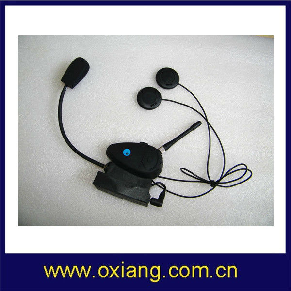 Helmet Headset For Motorcycles with Intercom, Built-in Battery