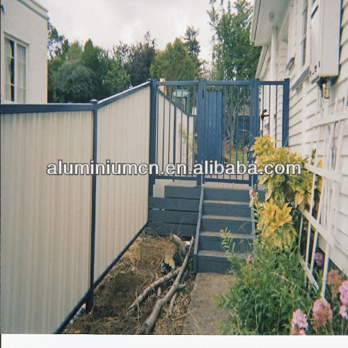 High qaulity aluminum fencing solid