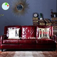 Latest Design Wooden Upholstered Leather Furniture