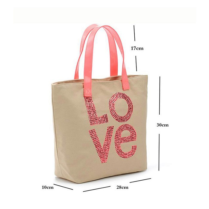 China Manufacturers Blank Canvas Custom Tote Bags Handbag