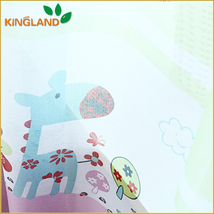 Cartoon Design Fancy Window Curtain For Kids Bedroom