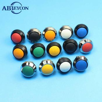 (16mm)Momentary 1NO waterproof vandal-switch, Industrial vandal push button switch