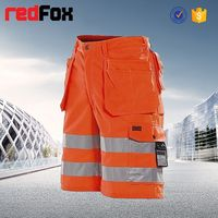 hi-vis safety mens pants short