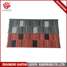 Excellent colorful sand flat shingle roof tile for antique building