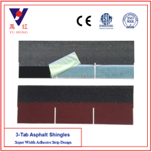 Best quality Asian Red 3-Tab Asphalt Shingles