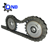 ANSI standard 428 motorcycle chain with individual package(professional supplier)