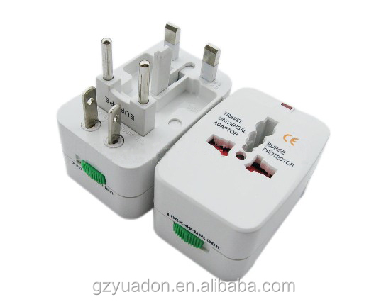 universal travel adaptor /UK/USA/EU/CN adaptor/travel plug and socket