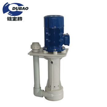 Sulfuric acid transfer vertical pump resisting acid-base