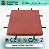 Wearing Resistant Rubber Tile Square Type