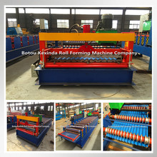 Hydraulic tile machine sheet corrugated roof making machine