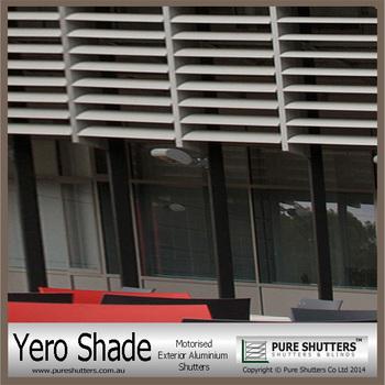 Yero shade ys001005 electric window shutters buy - Electric window shutters interior ...