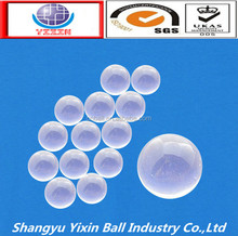 High quality 3.969mm 4.763mm 6.5mm 11.1125mm solid glass ball in stock