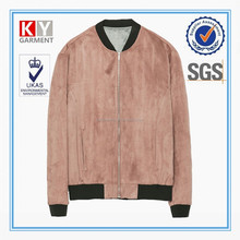 OEM wholesale baseball sports style suede leather men varsity jacket