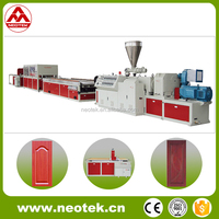 Chinese Machine WPC Wide Door Board Extrusion Line