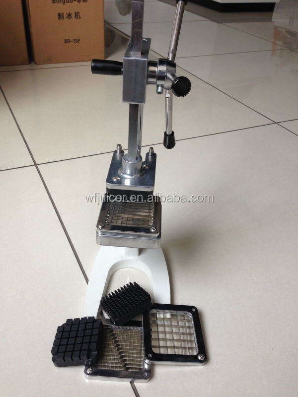 Stainless steel manual potato chipper