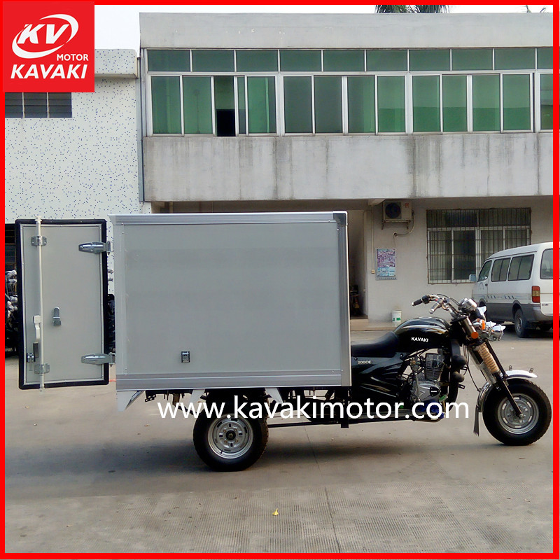 Food-handling transport close China truck cargo three wheel car automobile