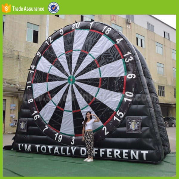 inflatable football dart game sport game for kids playground outdoor inflatable human football court